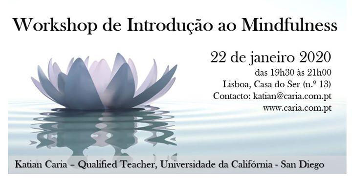 Workshop de Introdução ao Mindfulness