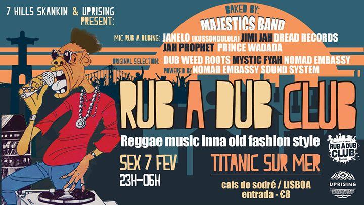 RUB A DUB CLUB - powered by Nomad Embassy
