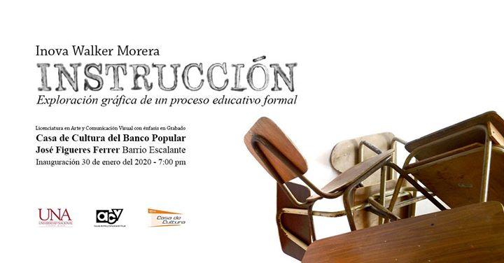 Inauguración: Instrucción // Inova Walker Morera