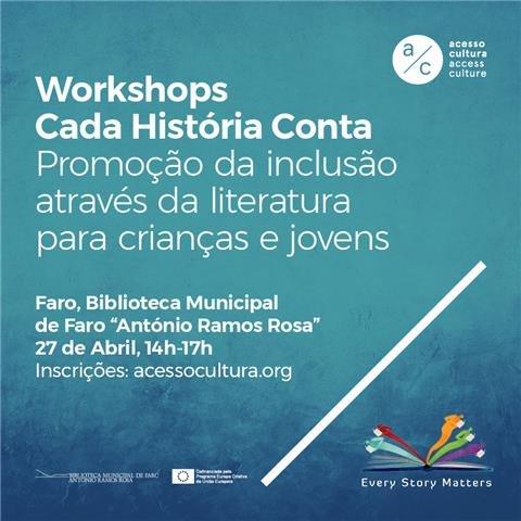 Workshop Cada História Conta