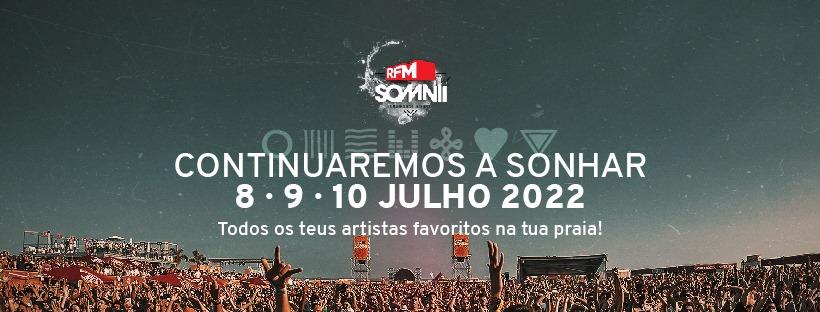 RFM SOMNII 2022 | 8 • 9 • 10 julho