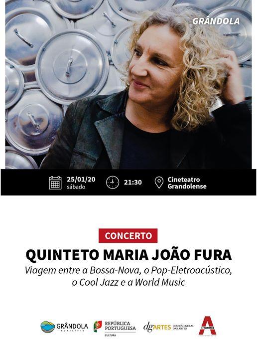 É Já Amanhã-Concerto Maria João Fura em Quinteto- Grândola
