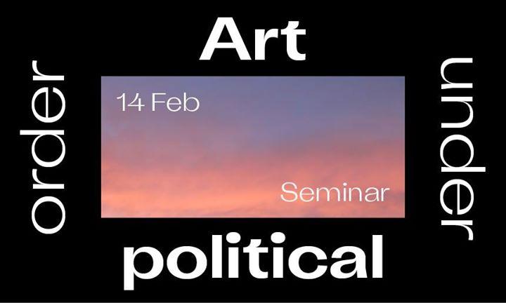 Art under political order