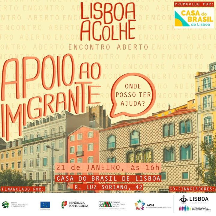 Quarto Encontro Aberto - Construção do Portal Lisboa Acolhe