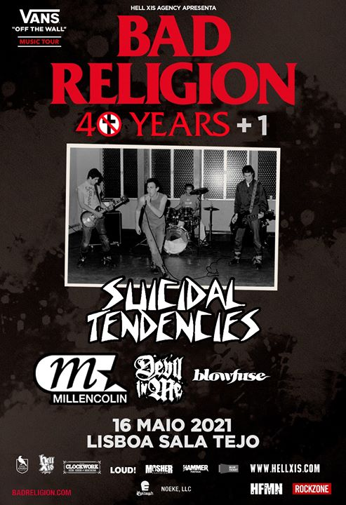 Bad Religion // Suicidal Tendencies + Special Guests - Lisboa
