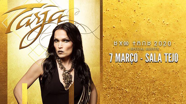 Tarja + Special Guests em Lisboa (Sala Tejo)