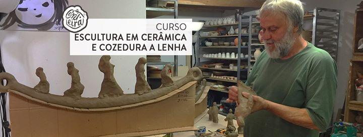Curso de Escultura em cerâmica e cozedura a lenha