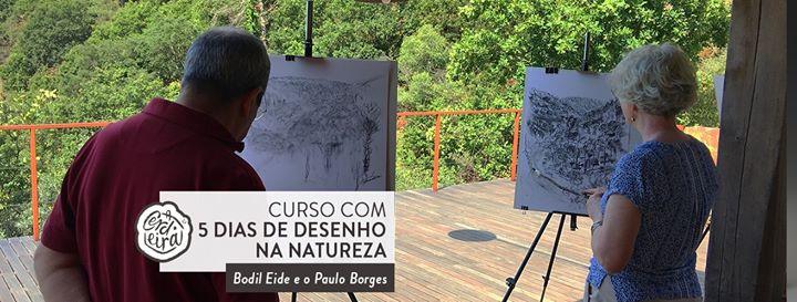 Curso 5 dias de desenho na natureza | 5 days drawing in nature