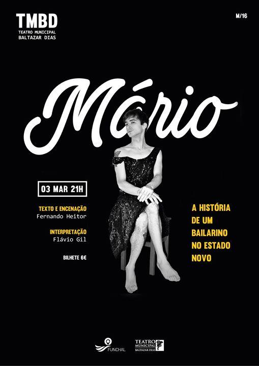 Mário - A História de um Bailarino no Estado Novo