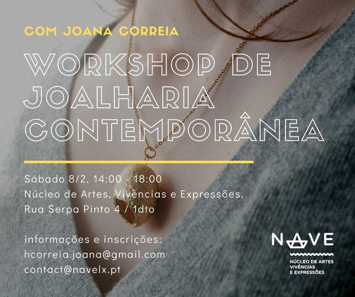 Workshop de Joalharia Contemporânea :: de casulo a pendente