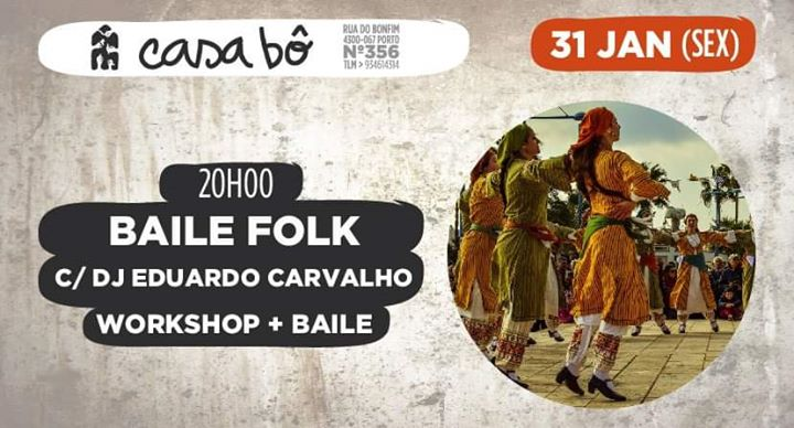 Workshop + Baile: Folk