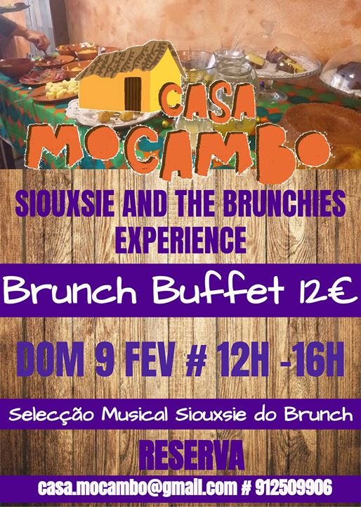 Siouxsie and The Brunchies Experience - Brunch Buffet