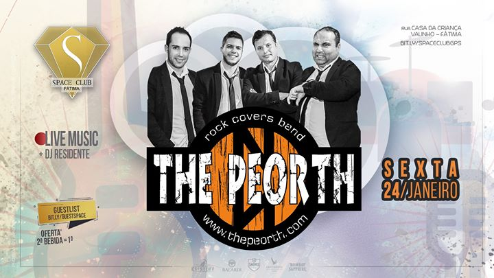 THE PEORTH - rock covers band • SPACE CLUB