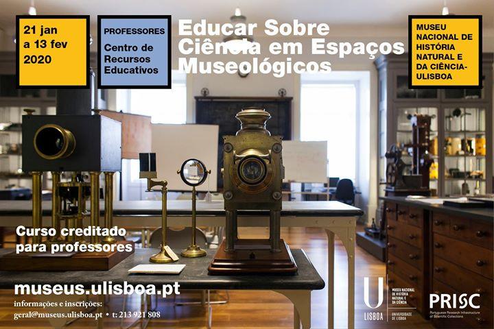 Educar sobre Ciência em espaços museológicos