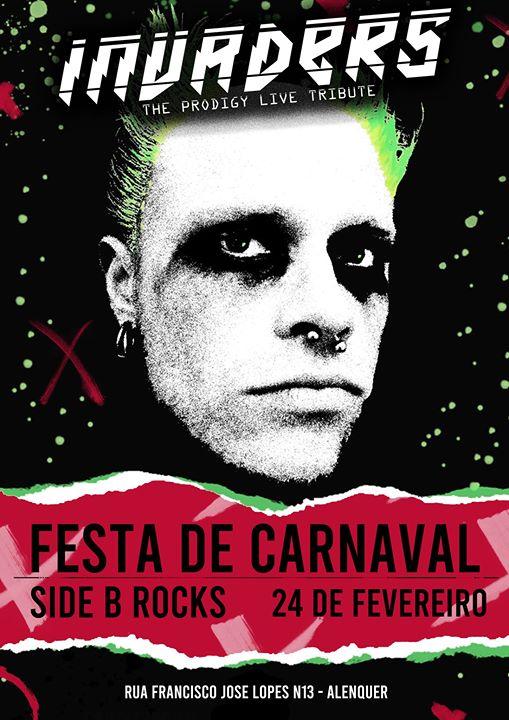 Tributo a The Prodigy - Festa de Carnaval - sidebrocks