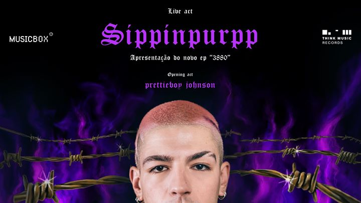 Sippinpurpp apresenta '3880' + prettieboy johnson