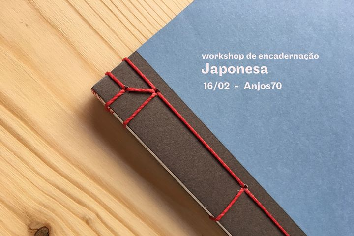 Workshop de Encadernação - Costura Japonesa (NOVA DATA)