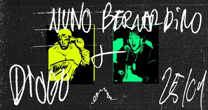 Noite Suruba — Diogo e Nuno Bernardino no Lounge