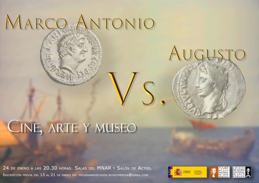 Cine, arte y museo «Marco Antonio vs. Augusto»