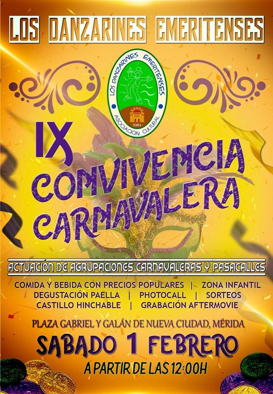 IX Convivencia Carnavalera de Los Danzarines Emeritenses