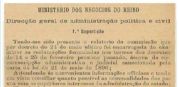 Aljezur na História do Municipalismo Português do século XIX-da extinção à restauração