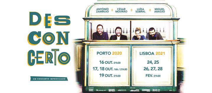 Desconcerto - Porto (DATA EXTRA)