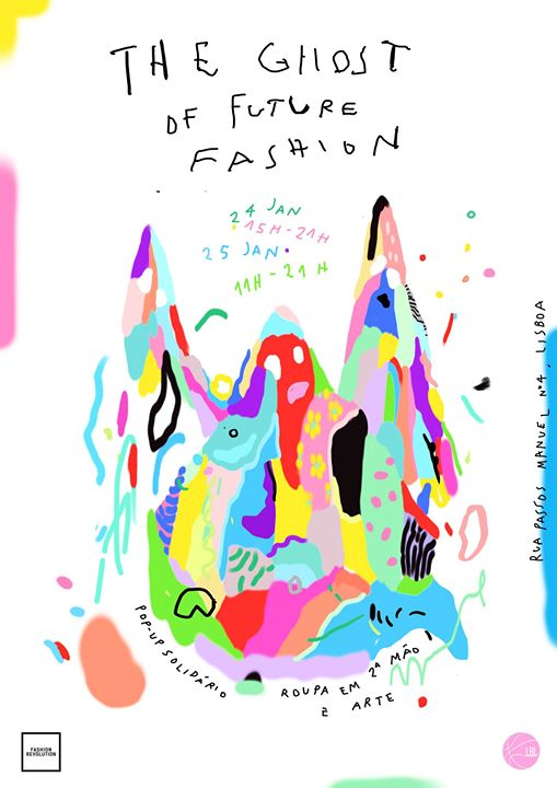 POP UP Solidária - The Ghost Of Future Fashion