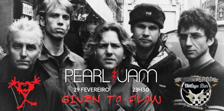 Given to flow tributo a Pearl Jam