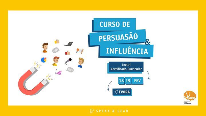 Curso Persuasão & Infuência - Évora
