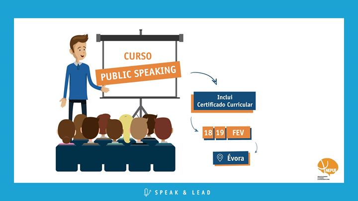 Curso Public Speaking - Évora