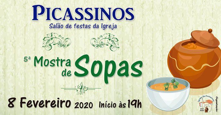 5ª Mostra de Sopas na Igreja de Picassinos