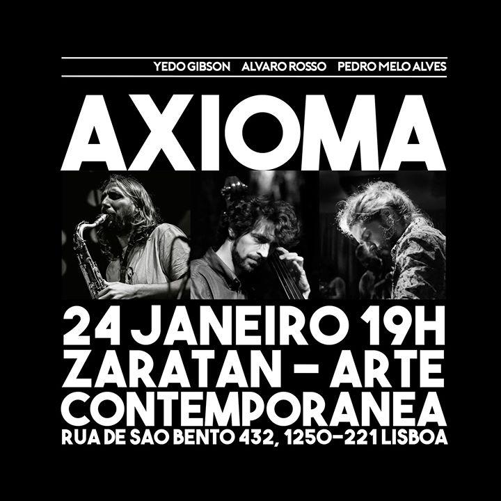 Axioma (Yedo/Álvaro/Pedro)