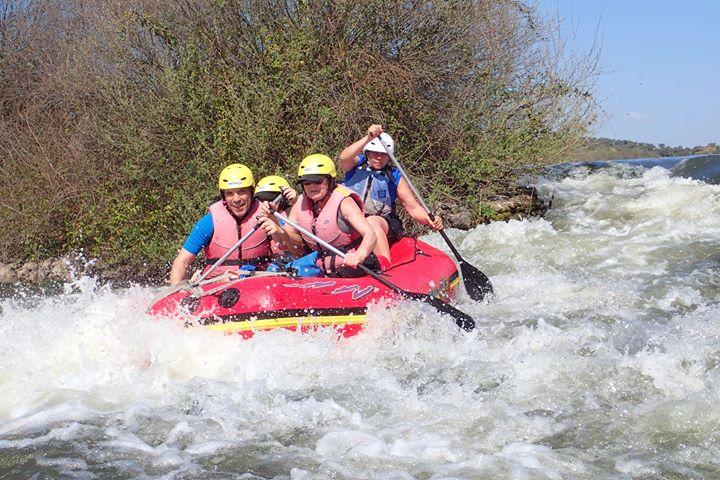 Rafting no Guadiana
