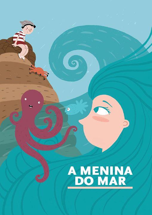 Adiado | A Menina do Mar - Histórias da Formiga Rabiga