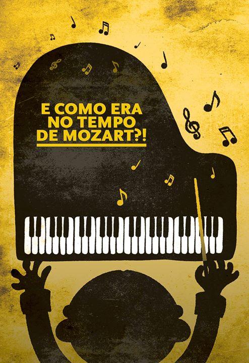 E como era no tempo de Mozart?! - Histórias da Formiga Rabiga