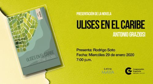 Presentación de la novela Ulises en el Caribe