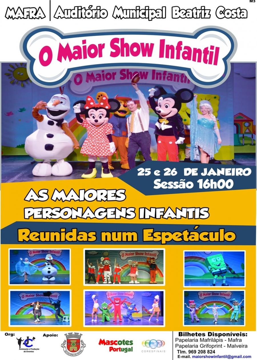 Espetáculo 'O Maior Show Infantil'
