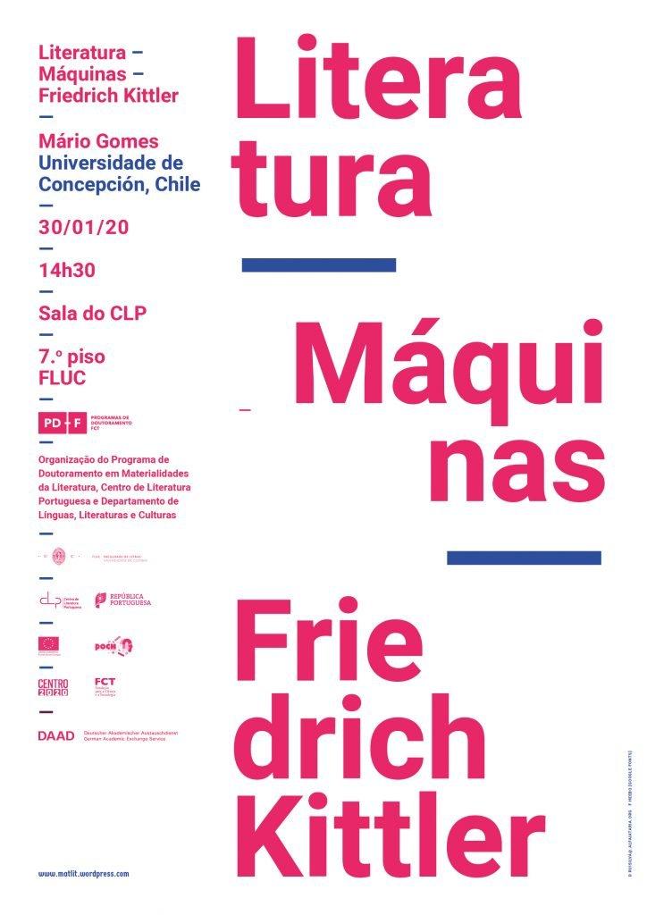 "Conferência ""Literatura – Máquinas – Friedrich Kittler"""