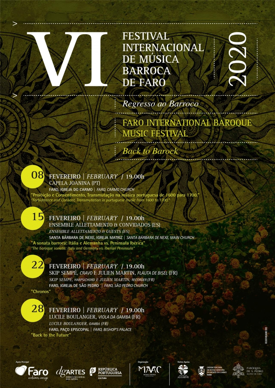 6º Festival Internacional Música Barroca de Faro