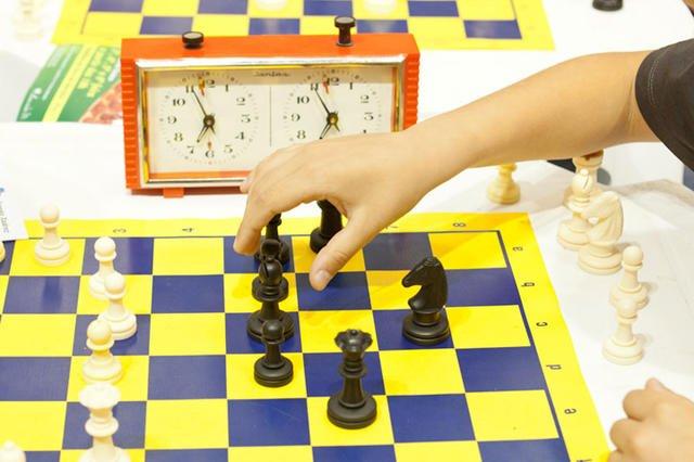 Workshop de Xadrez para os alunos da ES Manuel Cargaleiro