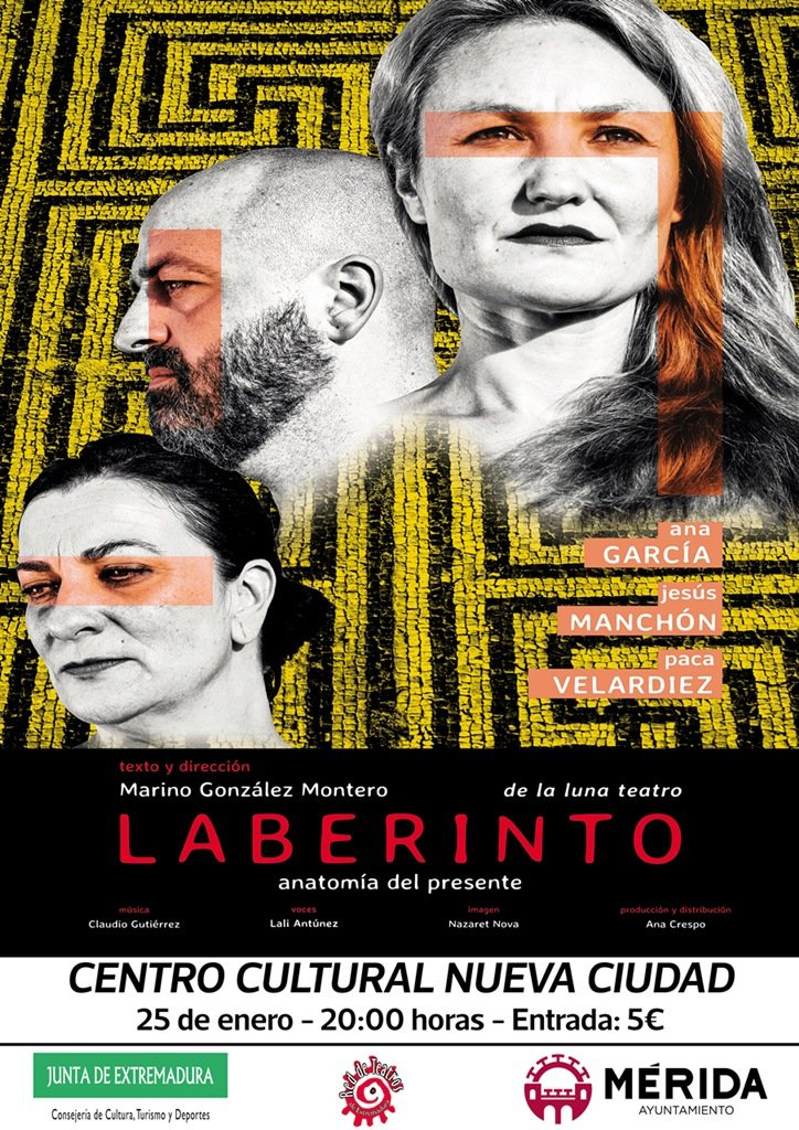 Teatro: «Laberinto, anatomía del presente»
