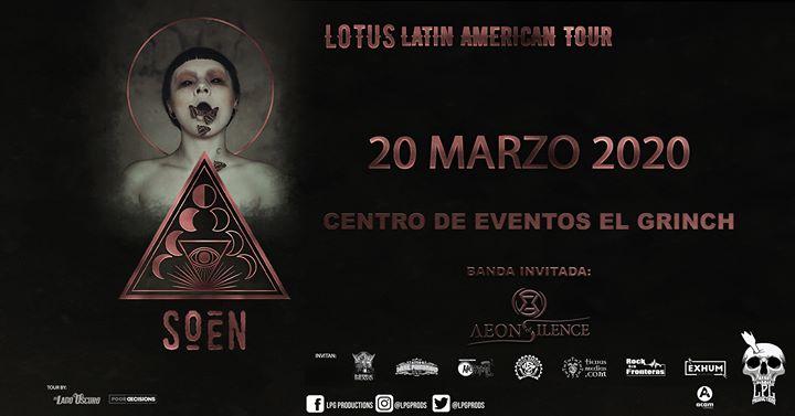 ¡Soen en Costa Rica! (Evento oficial)