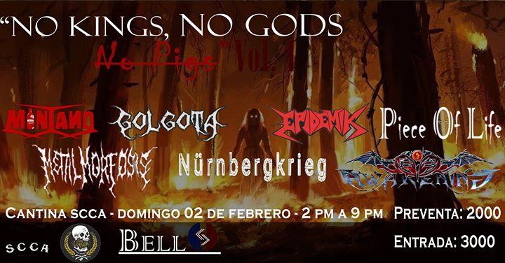 No Kings, No Gods, No Pigs
