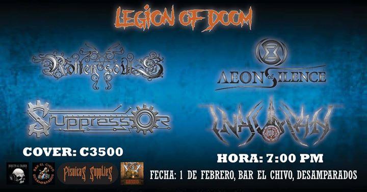 Legion of Doom 2020 - Desamparados