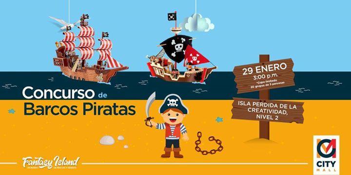 Concurso de Barco Pirata