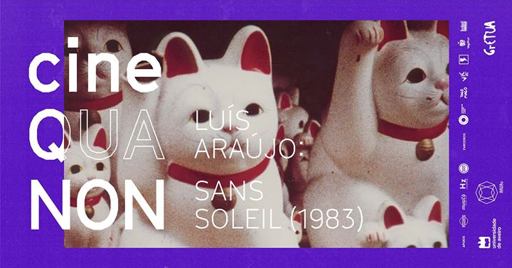 Cine Qua Non: Luís Araújo apresenta Sans Soleil (1983)