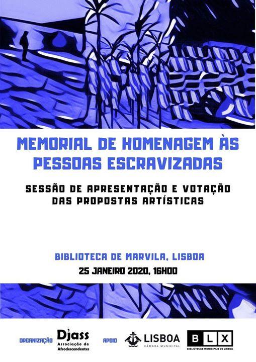 Votação para o Memorial de Homenagem às Pessoas Escravizadas