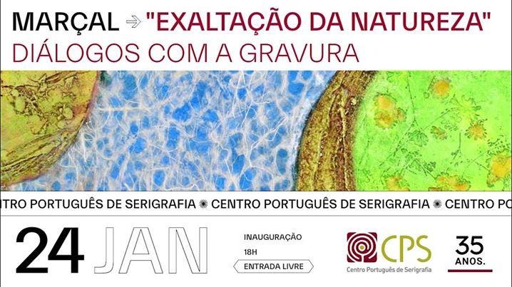 Convite/ Inauguração: Marçal 'Exaltação da Natureza'