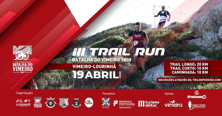 III Trail Run Batalha do Vimeiro 1808
