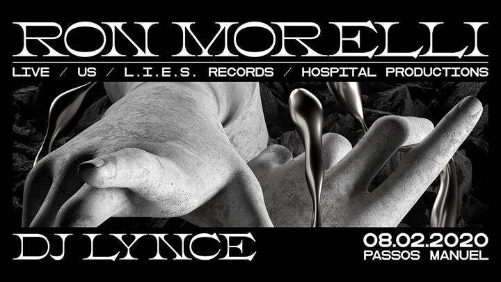 Ron Morelli (LIES Records) live & DJ Lynce